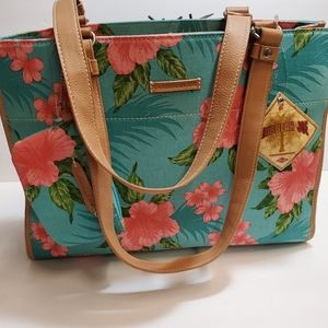 CARIBBEAN JOE  NWOT Summer  MEDIUM TOTE